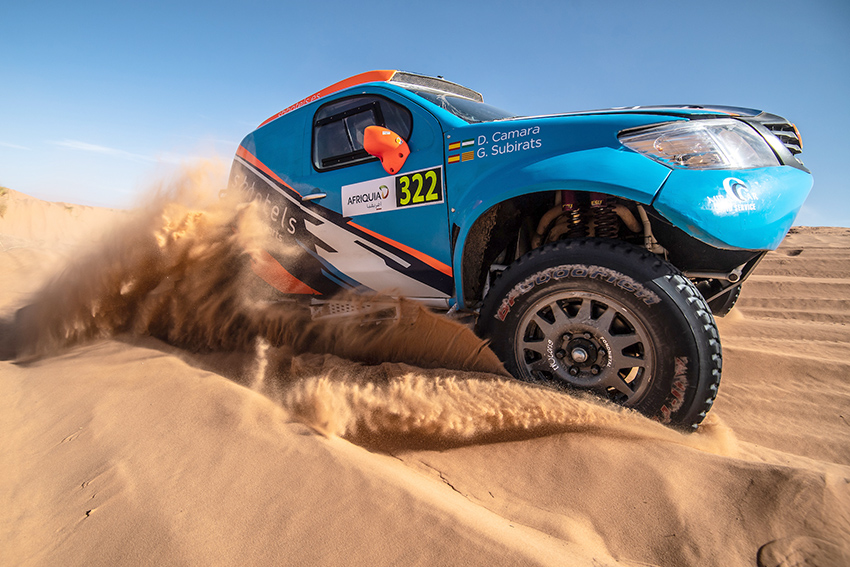 Foto Prometedor debut internacional del SB Hotels Rally Team en Marruecos